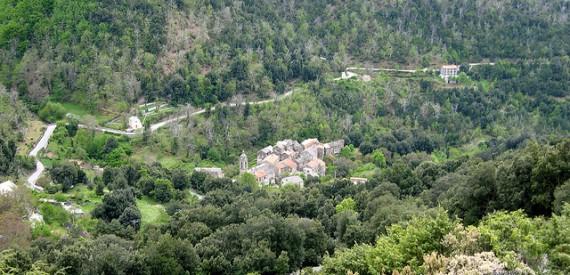 Der Region von Castagniccia