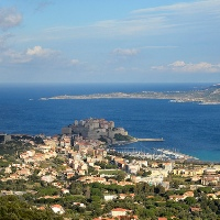 entlang der Nordküste von Korsika