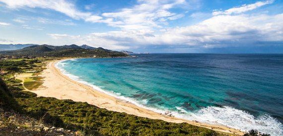 Korsika Strand von Lozari
