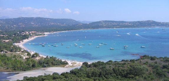 Der Strand von San Cipriano