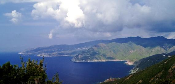 Corsican peninsula