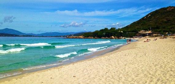 Santa Manza beach