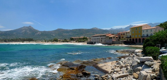 beaches of Corsica with full facilities