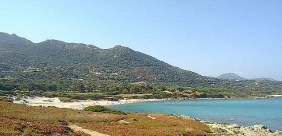 Bodri beach Corsica