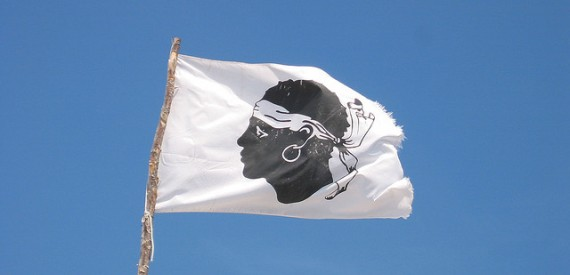 legends of Corsica: the Moor's head flag