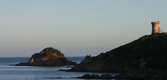 Genoese towers Corsica