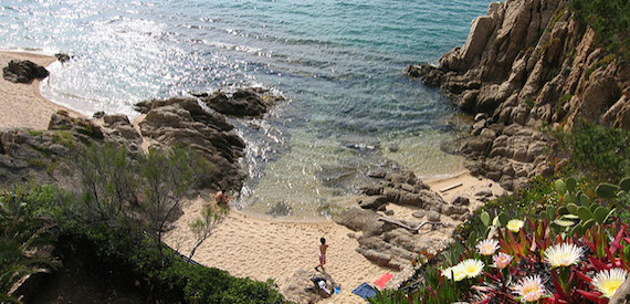 Corsica west coast beaches