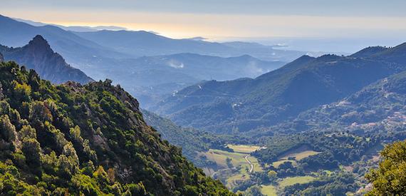 Corsica in autumn