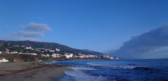 Arinella beach Corsica