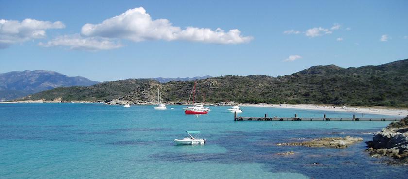 Corsica's desert beaches