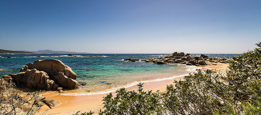 Corsica famous beaches