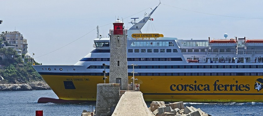 ferry to Corsica duration
