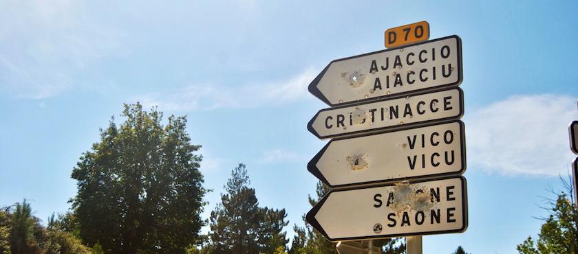 Corsica language