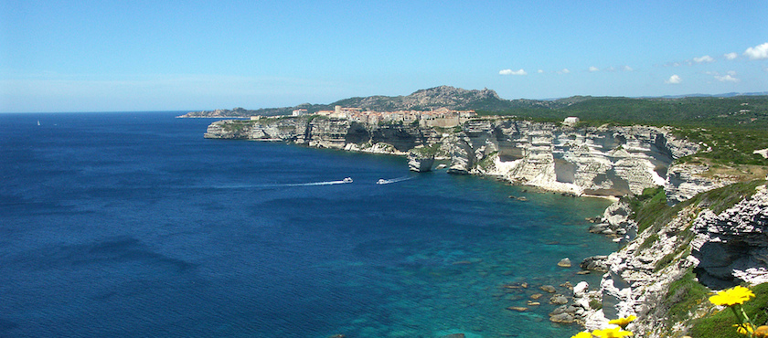Corsica south coast