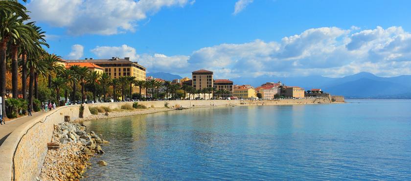 Eastern or western Corsica