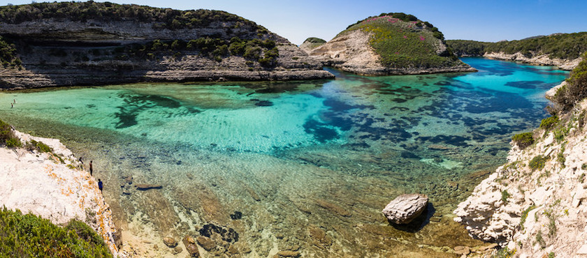 corsica beaches in august