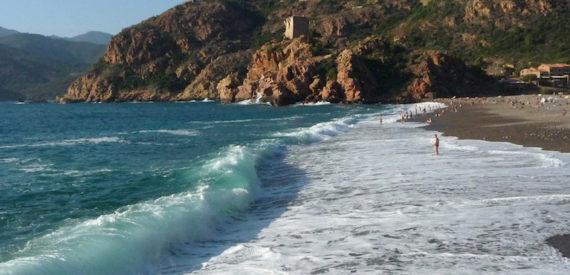 Corsica east coast