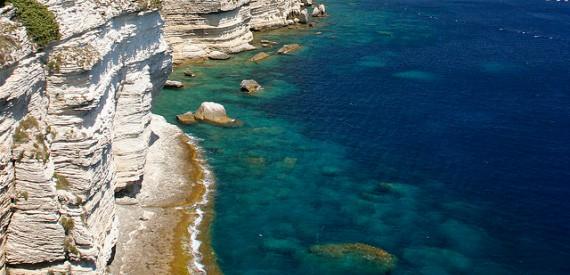 il mare delle Bocche di Bonifacio