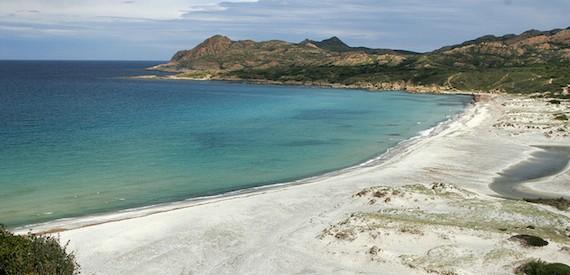 Corsica spiagge bianche