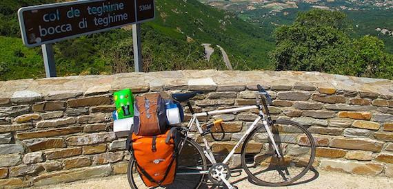 la Corsica in bici