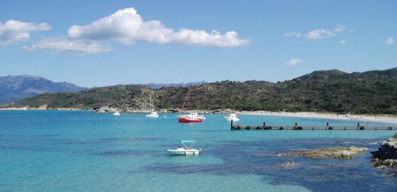 deserto della Corsica spiagge