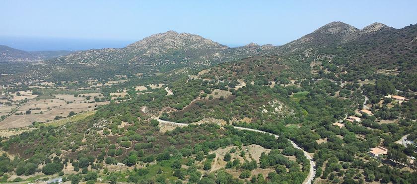 Corsica da nord a sud