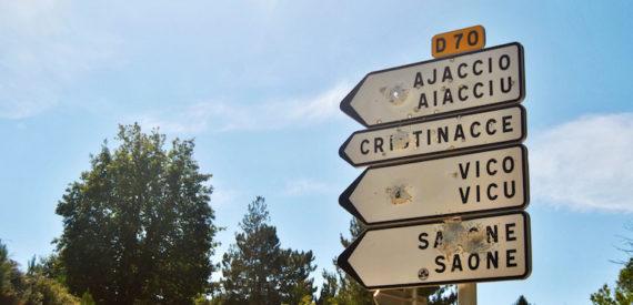Corsica che lingua si parla