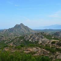 Die Wüste der Agriales in Korsika